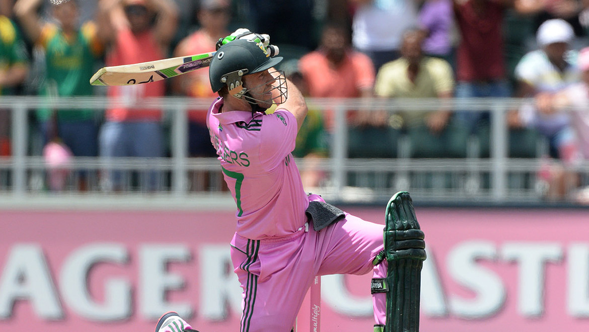 Pink Day ODI at the forefront of breast cancer awareness