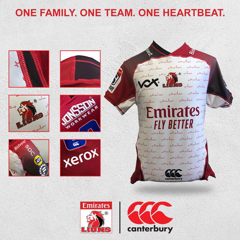 2020 Vodacom Super Rugby Lions Jersey